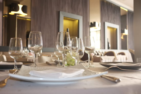 Restaurant le Grand' ru(e)  - Notre table -