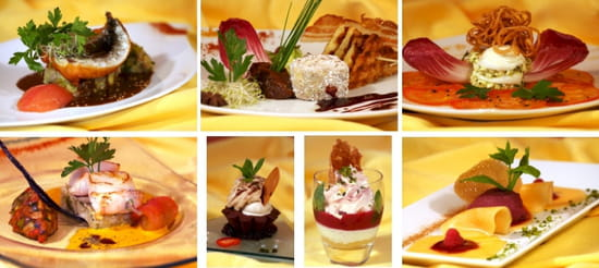 Restaurant le jardin restaurant de cuisine moderne for Le jardin issoire restaurant