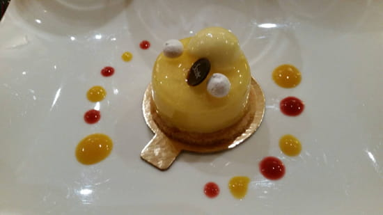 , Dessert : Restaurant Le Lumière - Hôtel Scribe Paris  - Citron meringué -