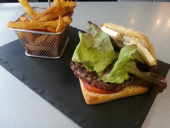 , Plat : Restaurant le M