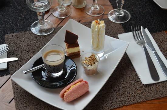 Restaurant le Meryl  - le café très très gourmand -