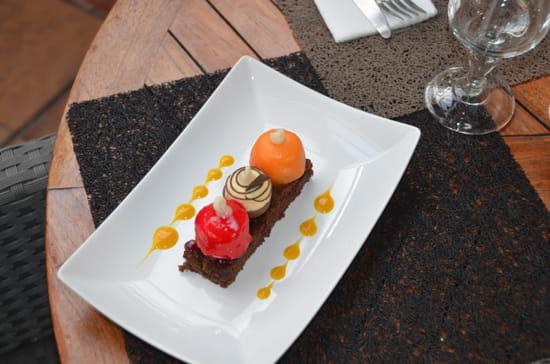 Restaurant le Meryl  - la buche revisité façon Meryl -