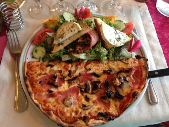 , Plat : Restaurant Le Parma Pizzeria Du Port