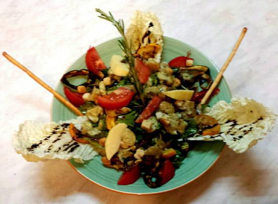 , Plat : Restaurant Le Relais d'Ayen  - La végétarienne -