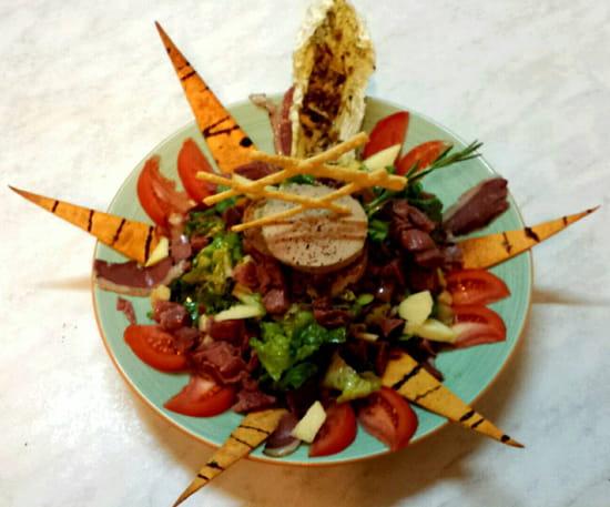 , Plat : Restaurant Le Relais d'Ayen