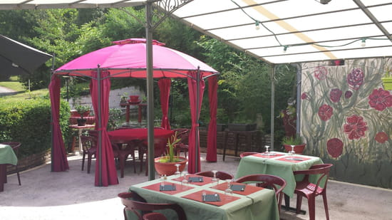 , Restaurant : Restaurant Le Relais d'Ayen  - Terrasse -