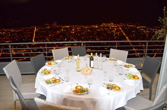 Restaurant le Téléférique  - Table Terrasse -   © restaurant-teleferique.com