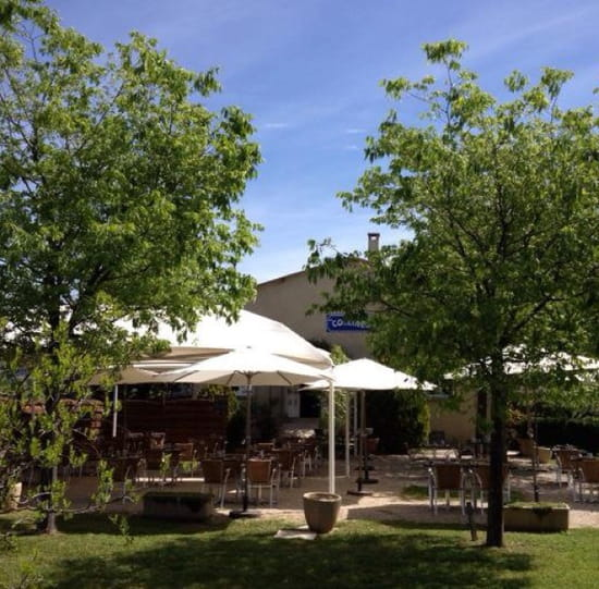 , Restaurant : Restaurant les Collines  - La terrasse -
