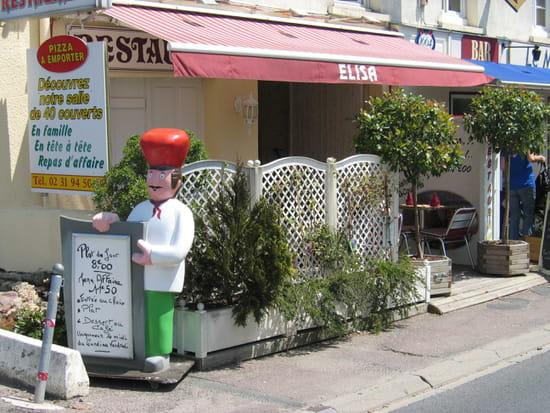 Restaurant Pizzéria Elisa  - Vu extérieur du Restaurant Pizzéria Elisa -