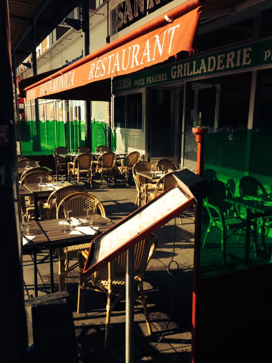 Restaurant pizzeria Santa Monica  - la terrasse -