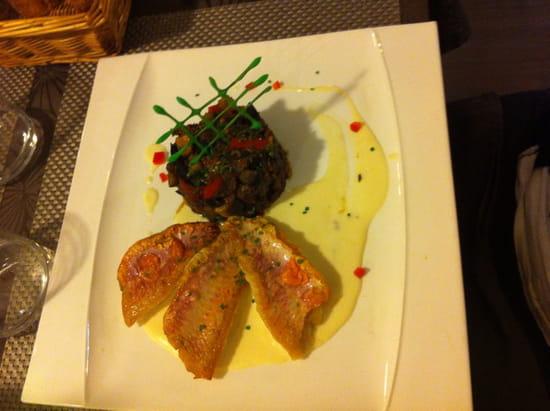 , Plat : Restaurant Traditionnel le Lamparo Entre Terre et Mer