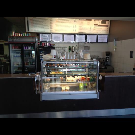 , Restaurant : Resto l'Express Café  - Vitrine  -