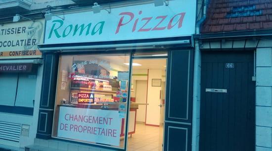 , Restaurant : Roma Pizza  - Changement d enseigne et de couleur interieur -