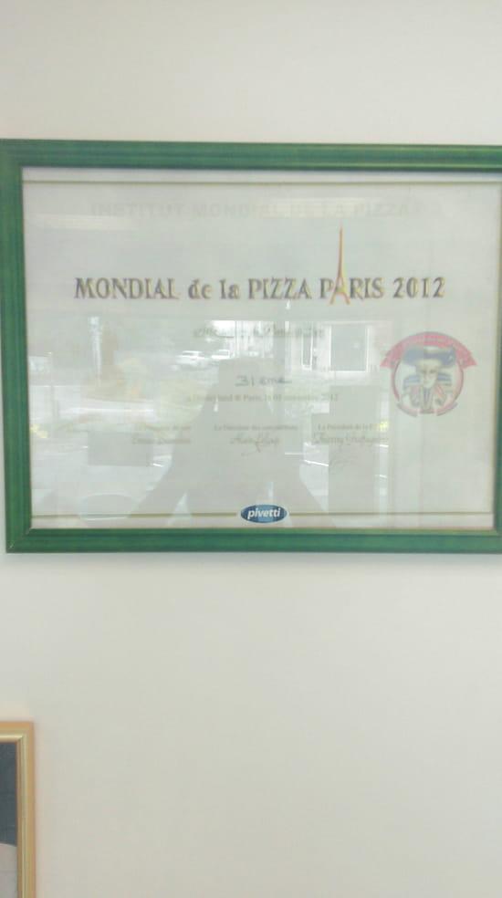 , Restaurant : Roma Pizza  - Diplome du mondial de la pizza -