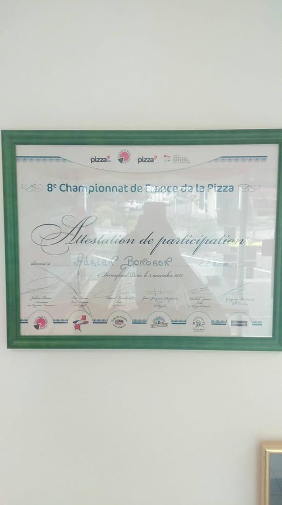 , Restaurant : Roma Pizza  - Diplome du championnat de france de la pizza -