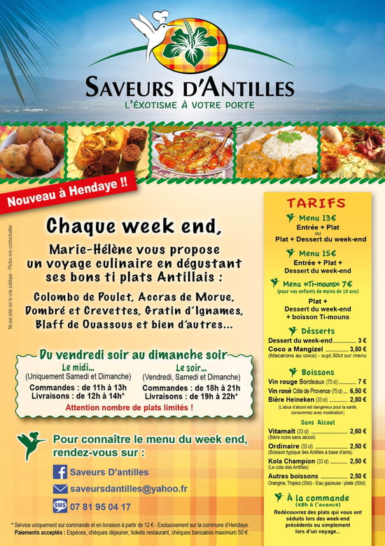 Saveurs d'Antilles