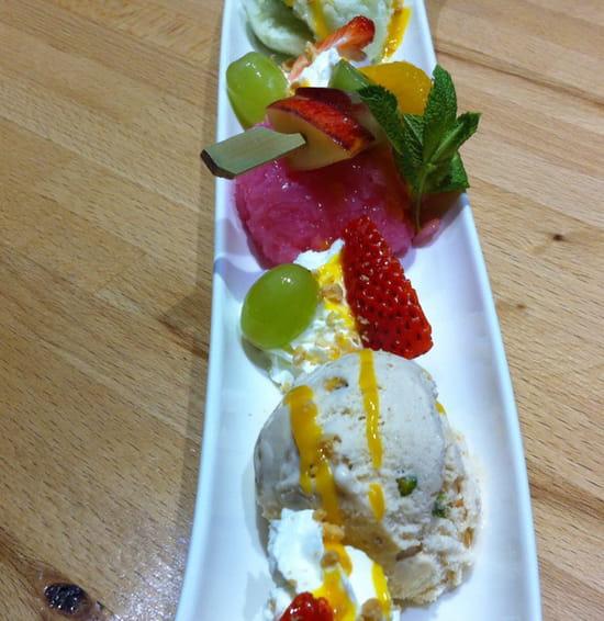 , Dessert : Sawasdee  - Coup Sawasdee -