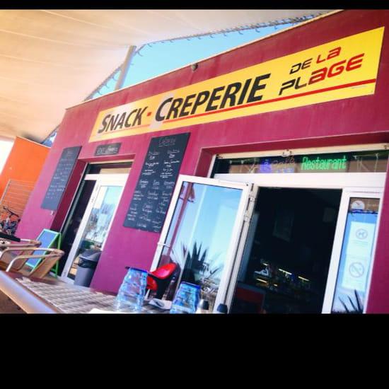 Snack-crêperie de la Plage  - Snack-crêperie de la plage -   © Ju