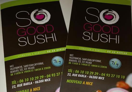 So Good Sushi in Nice
