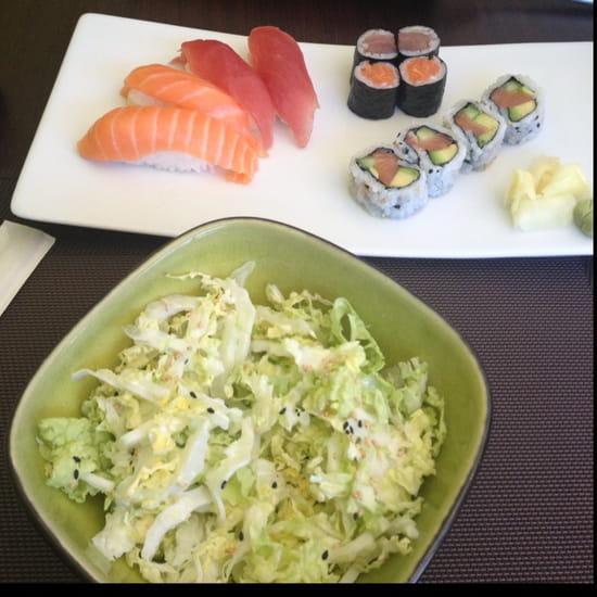 , Plat : Suki Sushi  - Salade chou et formule midi -