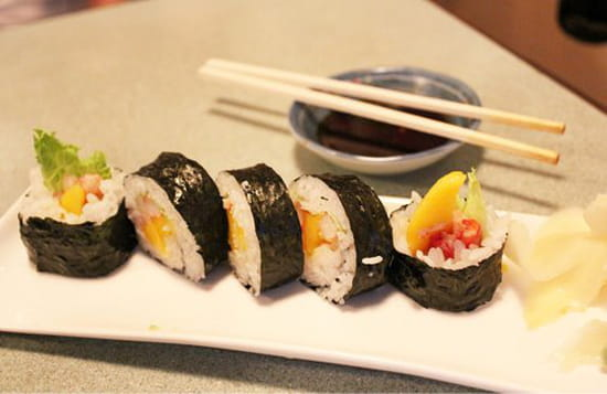 Sushi 123  - sushi futomaki -