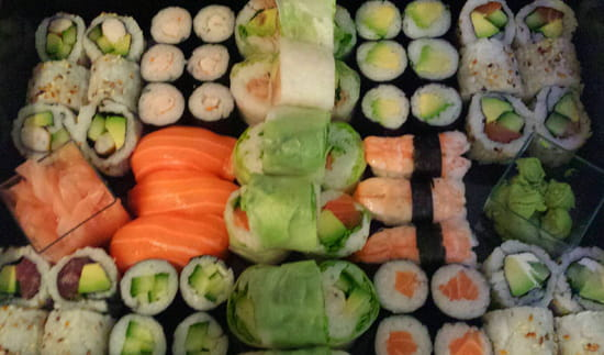 , Plat : Sushi Box 13  - Plateau -