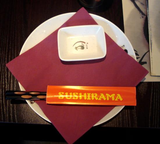 Sushirama  - Assiette -   © Adeline