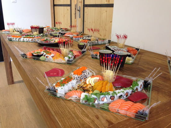 , Plat : Sushiya