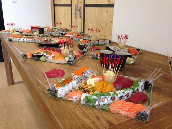 , Plat : Sushiya  - Apéritif dînatoire -