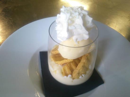 , Dessert : Talaia  - Gâteau basque en verrine  -