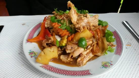 , Plat : Tan Lap II  - Porc a l'ananas -