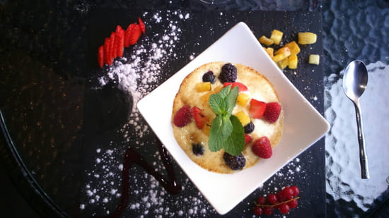 , Dessert : Terre et Mer  - Sabayon  -