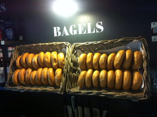 , Plat : Trendy place  - Bagel !!!!! -