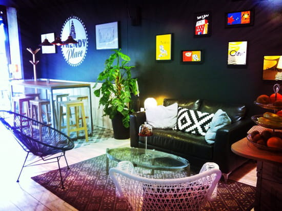 trendy place restaurant de cuisine moderne bordeaux. Black Bedroom Furniture Sets. Home Design Ideas