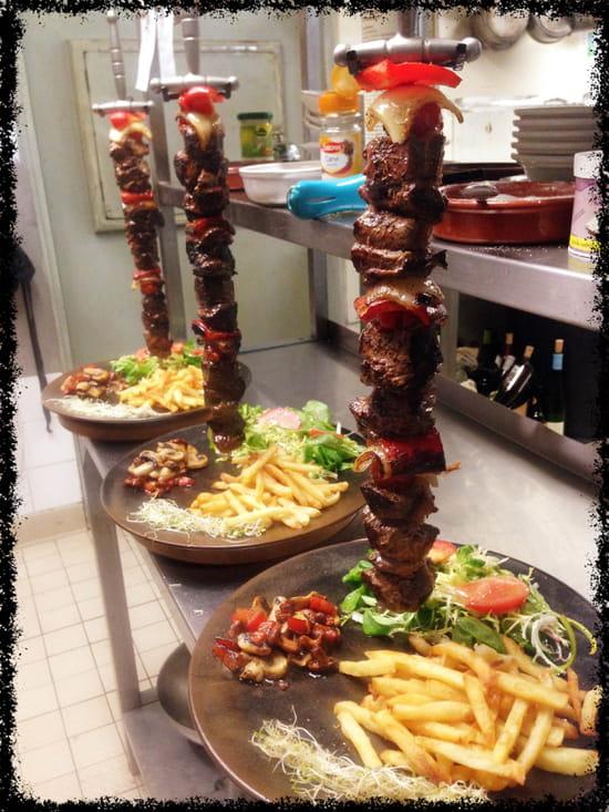 Vents d'Est gastronomique alsaciennes  - Brochette Médiévale -   © Vents d'Est