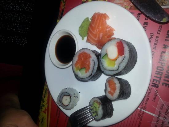 , Entrée : Wok d' Abbeville  - Sushi -