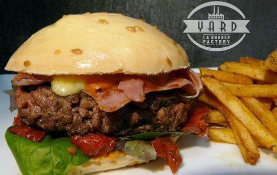 Yard - La Burger Factory  - Burger sans gluten -